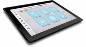Die Liftmaster-Sales-App im Tablet