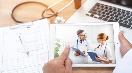 Klinik- und Zuweiser-Apps von M3