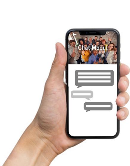 Chat-Modul Ansichtsbeispiel